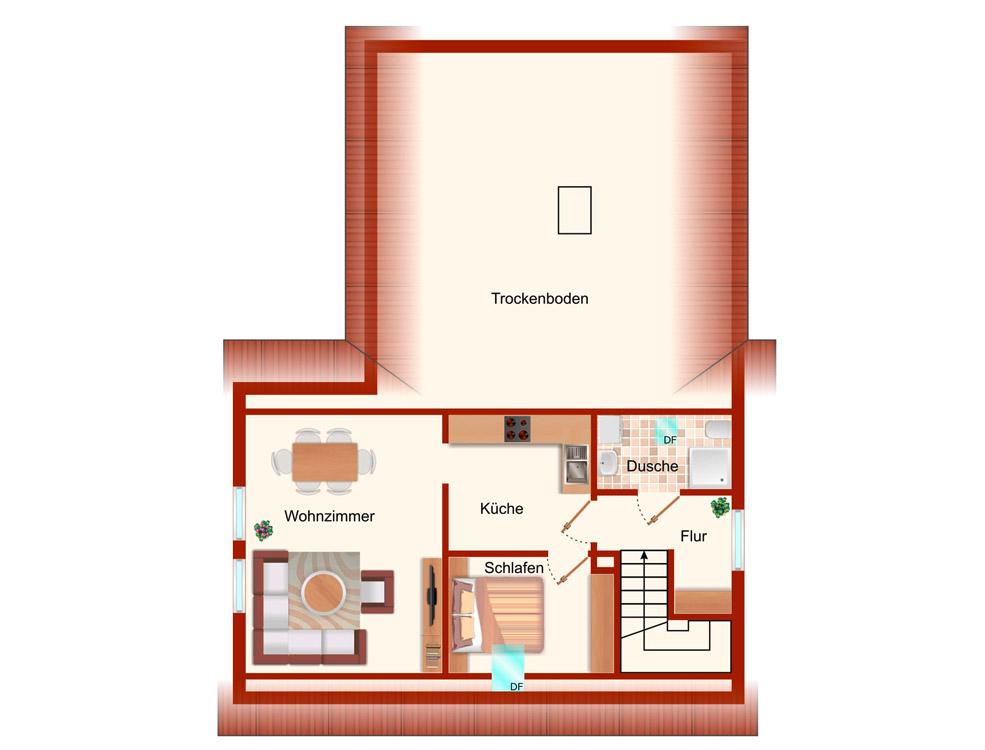 Wohnung Rastede